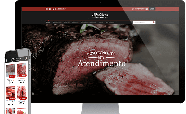E-Commerce - Galleria das Carnes