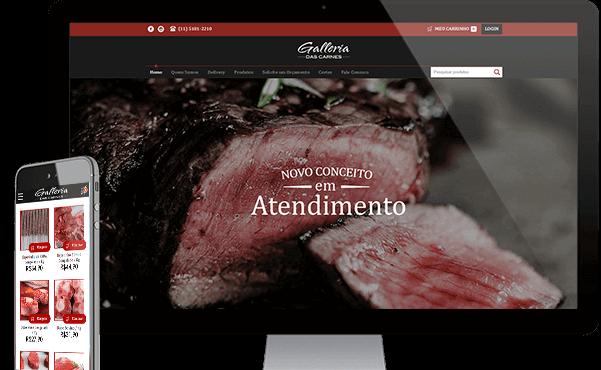 E-Commerce - Galleria das Carnes