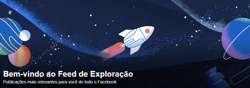 Feed de exploração: novo recurso do Facebook