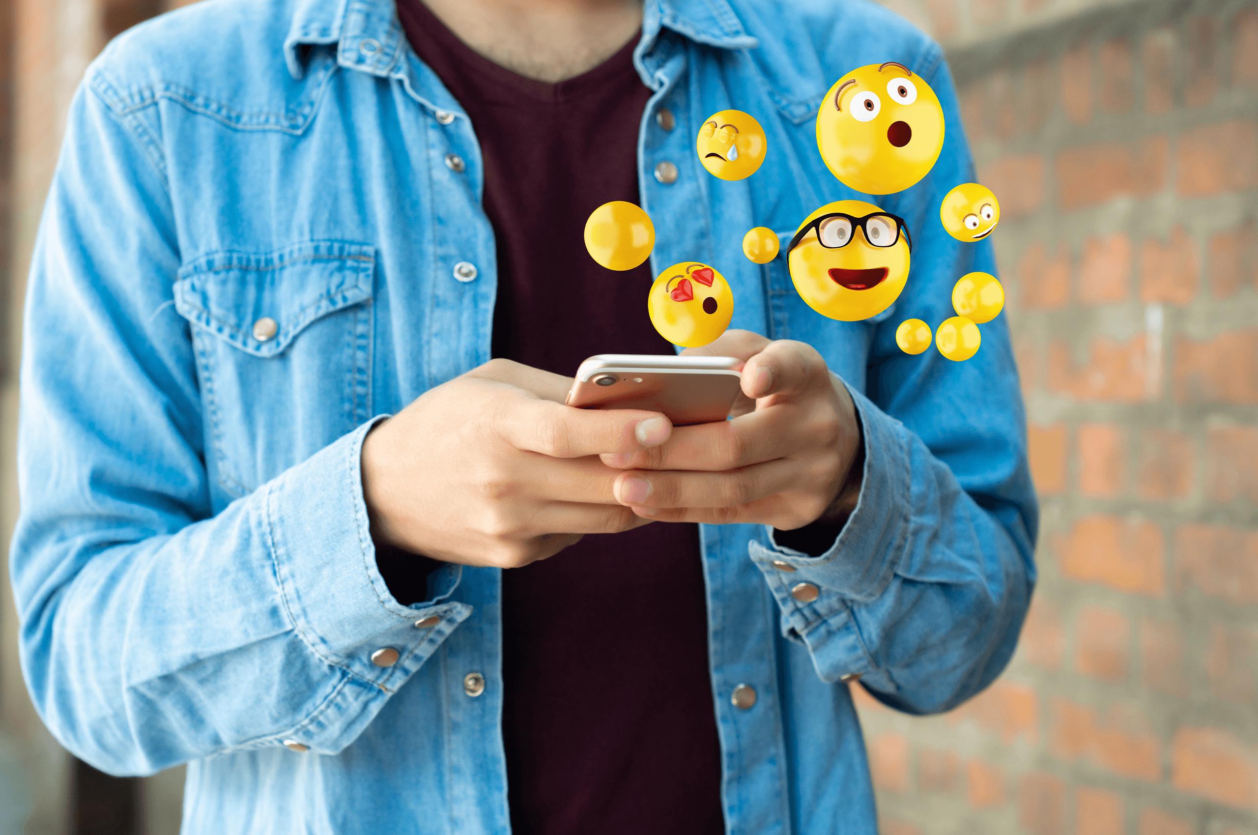 O papel dos emojis na comunicação digital