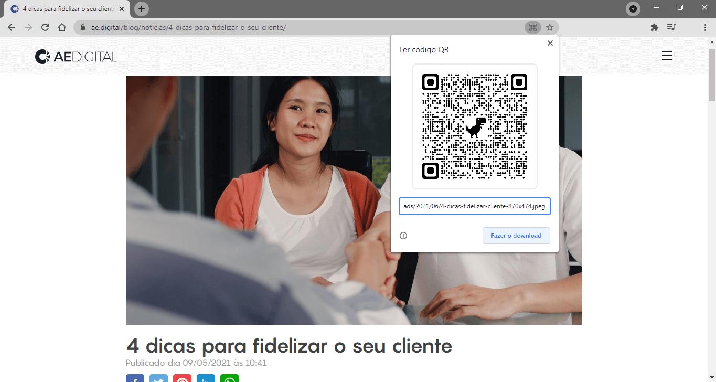 Gerador de QR Code: QR Code de imagem parte 2